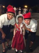 Lily-Rose, Hugo et Alexandre
