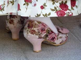 Chaussures provencales bastidanes